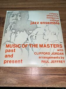 Music-of-the-Masters-Past-and-Present-w-Clifford-Jordan-12-33rpm-RJE-Vinyl