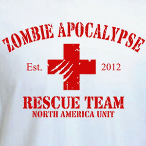 f133cb890 Image is loading ZOMBIE-APOCALYPSE-Rescue-Team-2012-funny-walking-dead-