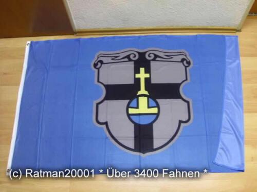 Fahne Flagge Meckenheim Rheinland Digitaldruck 90 x 150 cm