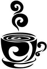 Coffee Station Cafe Kitchen Vinyl Decal/Sticker Food Wine Breakroom All Colors