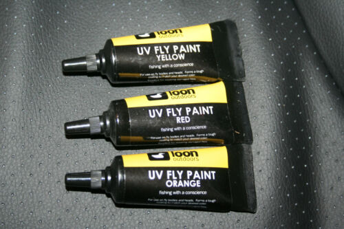 heads and butts Fly Tying LOON UV Fly Paint form wing buds cure with torch