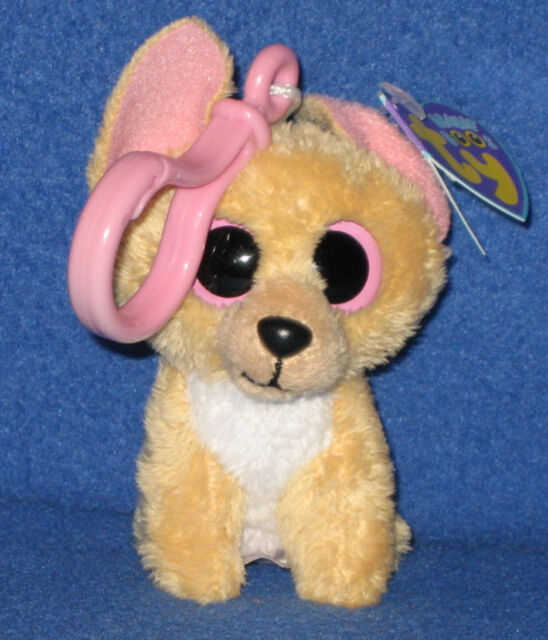 Buy Ty Beanie Boo Nacho Chihuahua Clip 2011 Retired RARE Solid Pink ... bc06bf27f5d