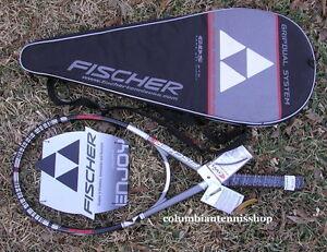 Dernier Ones $219.99 5 Neuf Fischer FT GDS Take Off 910 Raquette de tennis 112 L5 5//8