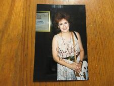 "JUDY KAYE(""The Phantom of the Opera""/""Carlotta"")Signed 4 X 6 Glossy Color  Photo"