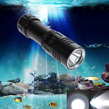 5000LM CREE XM-L2 LED Scuba Diving Underwater 100m Flashlight Torch Light 18650
