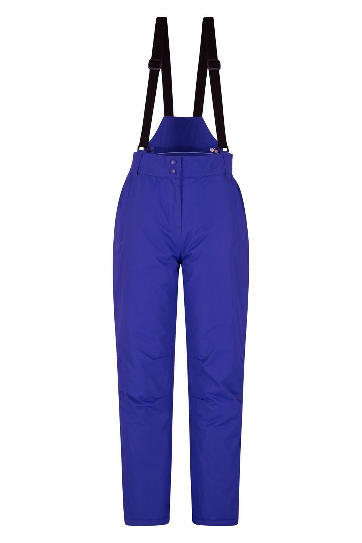 NEW Womens Mountain Warehouse Ski Trousers Salopettes 10 Purple RRP .99
