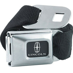 Lincoln-Logo-Licensed-Seat-Belt-Design-Belt-Buckle-Combo-for-Pants