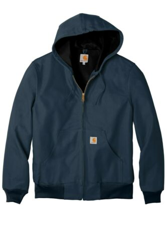 Carhartt Jacket Thermal Lined Duck Active Full Zip Men/'s Coat Big Tall CTJ131