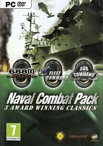 Fleet-Command-Sub-Command-688-Hunter-For-PC-New-amp-Sealed