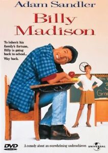 Billy-Madison-DVD-2001-R4-Adam-Sandler-terrific-Condition