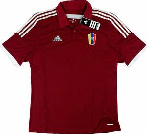 Adidas Men First Team Jersey Venezuela La Vinotinto Soccer ...