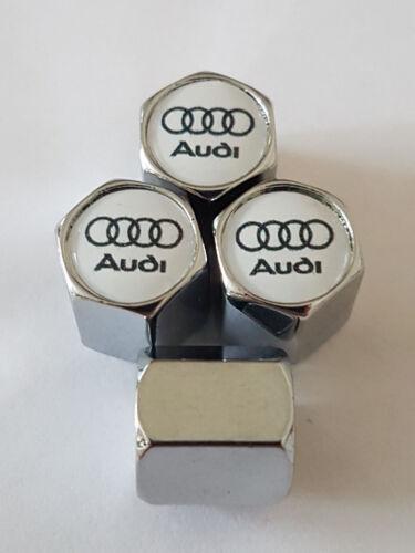VALVOLA PER AUTO AUDI CERCHI IN LEGA TAPPI Polvere tutti i modelli di tutte le automobili AUDI RS S line TT RS5