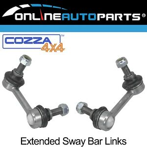 2 x Front Extended Stabilizer Sway Bar Links suits Nissan Navara D40 2005~2015