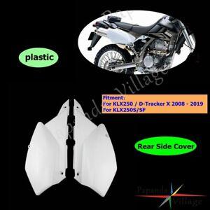 Left Right Rear Side Plastic Cover Fits Kawasaki KLX250 2008-2019 D-Tracker X