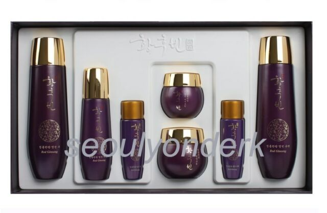 Korean Cosmetics The Legend of the Empress Red Ginseng Skin Care 5pc Set