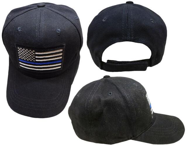 Thin Blue Line USA Mesh Caps Adjustable Unisex Snapback Trucker Cap