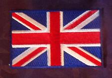 UNITED KINGDOM UNION JACK FLAG EMBROIDERED PATCH UK GREAT BRITTAIN SEW/IRON DIY