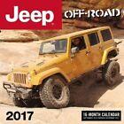 Jeep Off-road 2017 16-month Calendar September 2016 Through December 2017 by KE