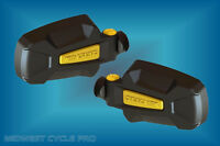 Seizmik Yellow Pursuit Elite Side View Mirrors (2) For 1.75 Roll Cage (18071_y)