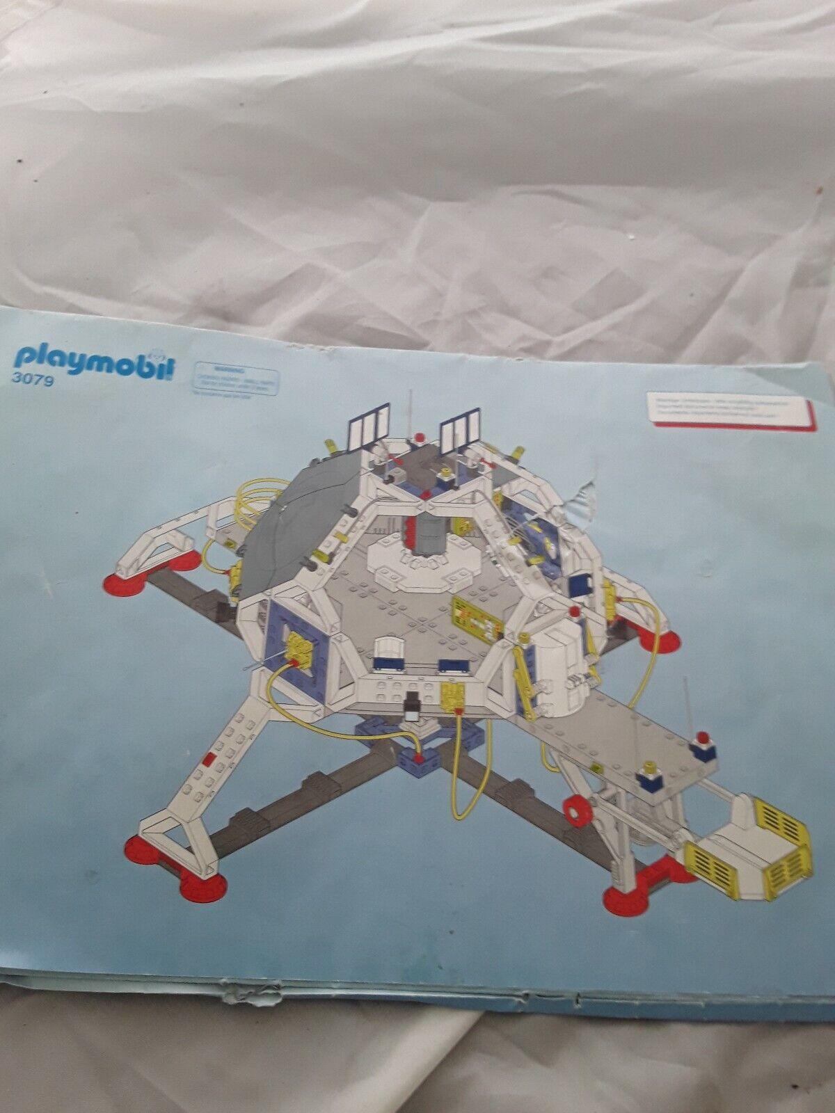 Playmobil 3079 Grosse Raumstation vom Jahr 1999 gebraucht