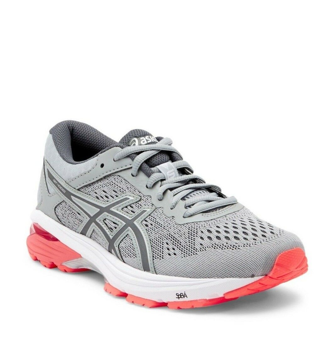 ASICS GT-1000 Sneaker Mid Grey Carbon Flash Flash Flash Coral Size 8.5D 268ee2