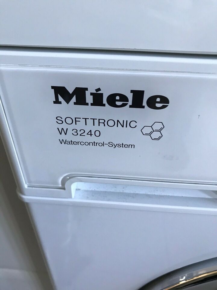 Miele vaskemaskine, W3240, frontbetjent