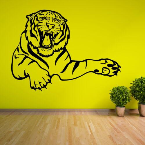 Roaring Tiger Vinilo el arte de pared calcomanía