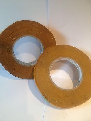 1 X 25MM X 50M resistente al agua Tejido de Doble Cara Rollo de cinta Refix