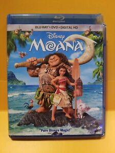 DISNEY-MOANA-Blu-ray-DVD-2017-2-Disc-Set-Dwayne-Johnson-Auli-039-i-Cravalho