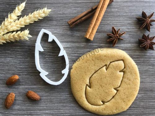 Jungle Feuille Cookie CutterFondant Décoration GâteauVendeur Britannique