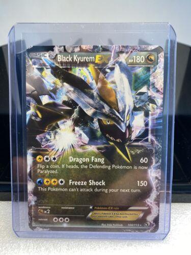 Black Kyurem EX Ultra Rare Holo 100/113 - Pokémon Card