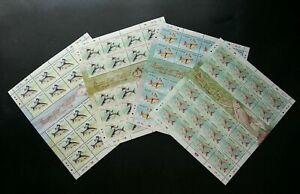 SJ-Fresh-Water-Fish-Series-III-Malaysia-2006-Animal-Wildlife-sheetlet-MNH