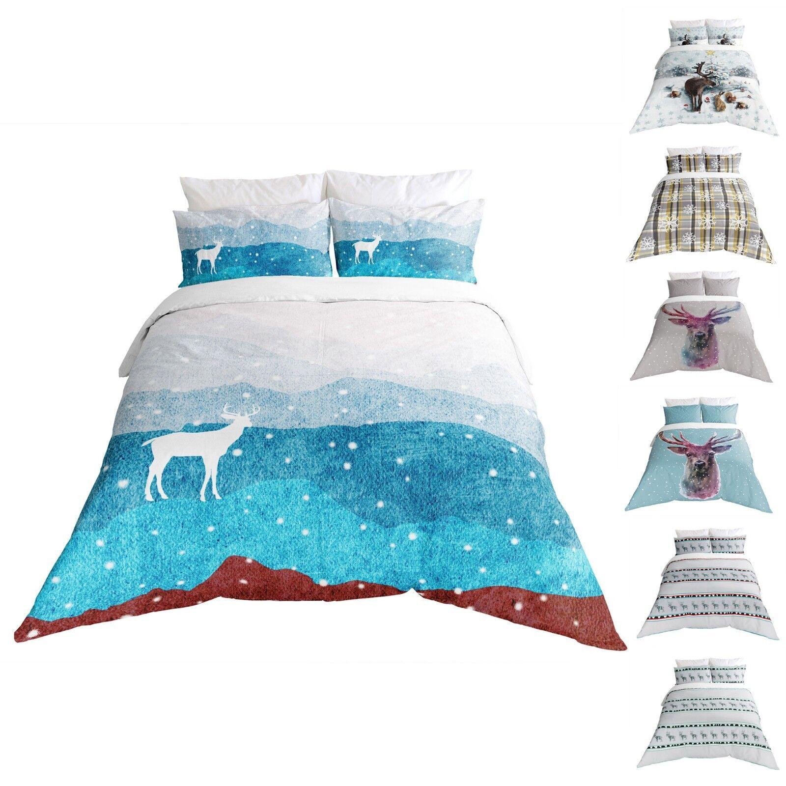 Adam Home 3D Print Duvet Covers Christmas Design New Bedding Set With Pillowcase