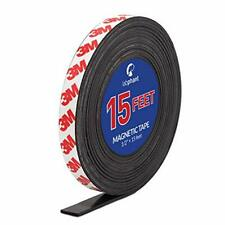 Magnetic Tape 15 Feet Magnet Tape Roll 12 Wide X 15 Ft Long With