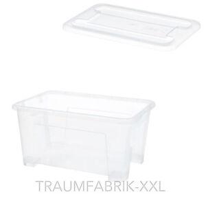 10x ikea boxen mit deckel 5liter kiste spielzeugkiste aufbewahrungsbox lagerbox ebay. Black Bedroom Furniture Sets. Home Design Ideas