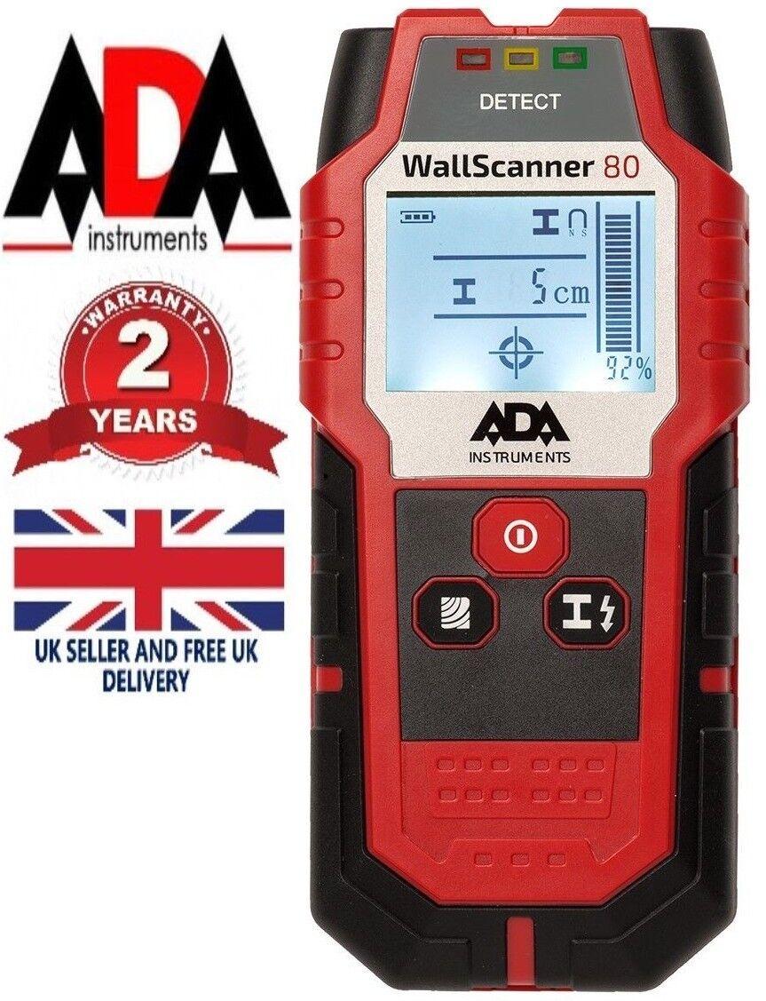 TS78B 3 en 1 Escaner de metal con cable de CA Detector de madera LCD digita B5T1