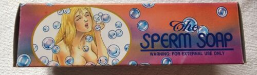 Scherzartikel The Spermien Soap Seife In Spermien Optik OVP