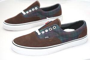 dcb3bb4002 Vans Era MLX Flannel 2 Tone Mens Skate Shoes Trainers Size UK ...