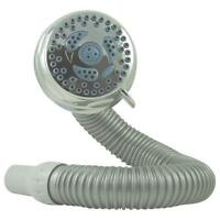 Waterpik Showerhead Chrome Flexible 6 Settings Shower Head 2 Gpm Nsl-603t