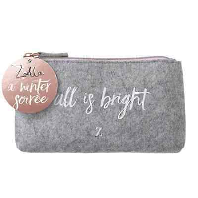 Winter Soiree All Is Bright Makeup Bag