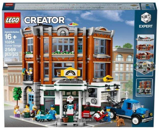 Lego creator expert esquina garaje garaje garaje conjunto Modular 10264-Stock En Mano  garantía de crédito