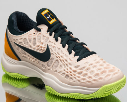 Nike Zoom Cage 3 Clay Women Sneakers Orange Peel 2018 Tennis Shoes 918198-800