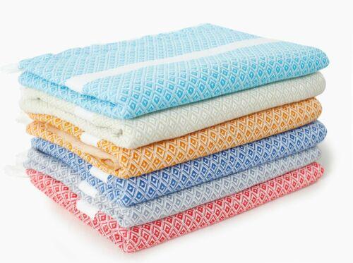 100/% Cotton Hammam Beach Authentic Towel Indian Towel 60*28 Turkish Peshtemal