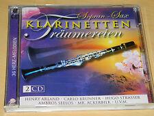 2 CD Klarinetten träumereien SOPRAN SAX 36 herz melodien BRUNNER METTLER MORIN