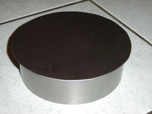 Ofenrohr Blinddeckel FAL Ø 180 mm Wandfutter Kaminrohr Ofen Rohrdeckel Kamin NEU