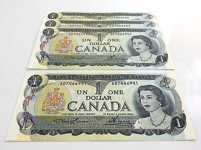 CANADA  1  DOLLAR  1973  Prefix IY  P 85a    Uncirculated Banknotes