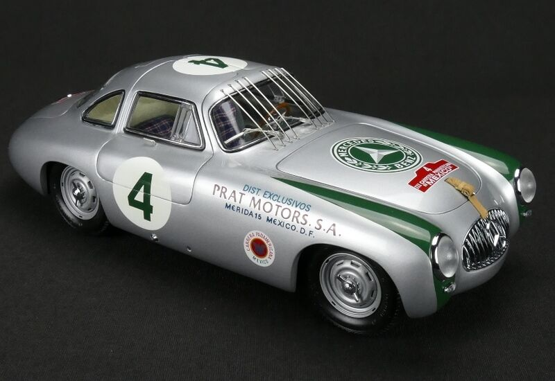 CMC 1952 Mercedes-Benz 300 SL Panamericana M-023 1 18 Ny
