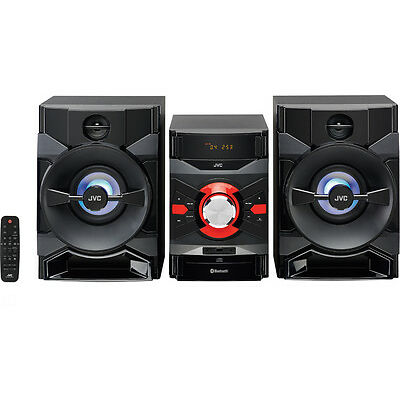 JVC MX-DN550 400 W Megasound Hi-Fi System With Bluetooth & CD player Black