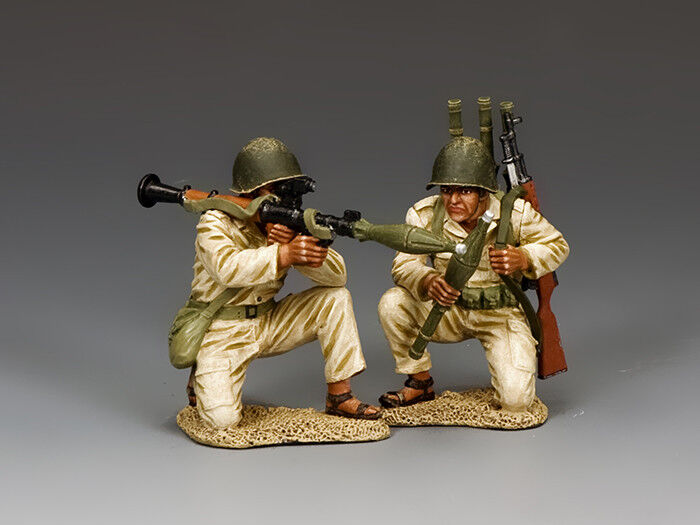 King and Country Egyptian  Syrian RPG7 Team IDF023