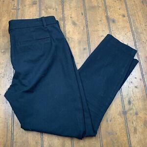 Gap for Good Womens 8 Regular Signature Skinny Ankle Pants Black Stretch